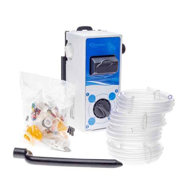 Promax Dosierer, 4 Produkte, 4l/min, Druckschalter